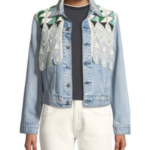 Levi's Made and Crafted Denim Beaded Jacket